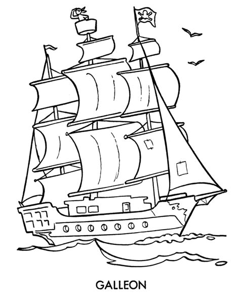 Pirate Ship Coloring Page by Pirate Ship Coloring Pages These Pirate Coloring