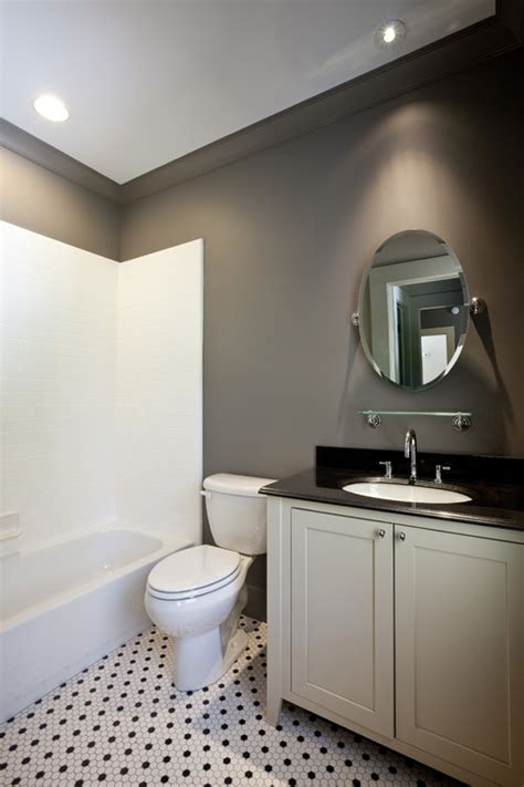 paint color black and white bathroom remodelaholic tips and tricks for choosing bathroom paint colors