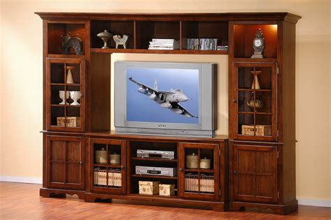display cabinet media wall traditional wood tv home