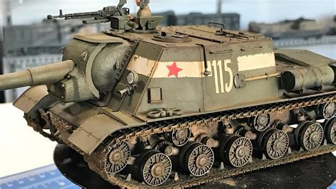 Weathering Russian Armor On A Tamiya Jsu 152 Using Ammo By