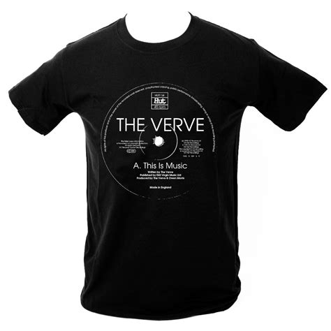 microdot store the verve this is t shirt