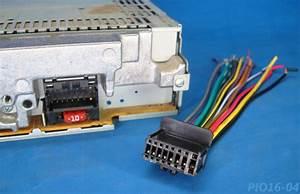 Pioneer Radio Plug Stereo Harness Deh P5700mp 26 P5900ib 16 P6000ub P6700mp P350