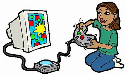 Computer Clipart Games Cliparts Clip Spiele Play