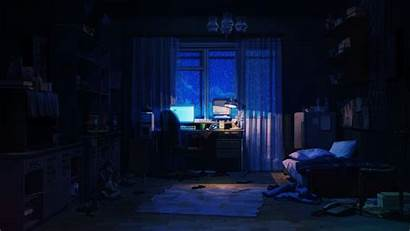 Anime Bedroom Animated