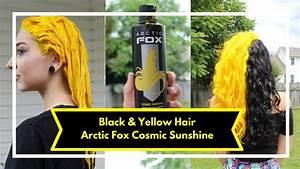 Yellow Hair With Arctic Fox Cosmic Sunshine
