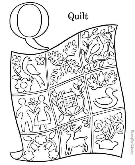 coloring activity pages    quilt coloring page