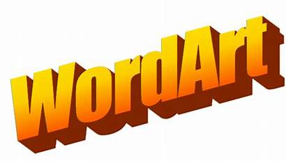 Generator Wordart Word Font Microsoft Clipart Maker