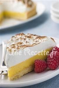 Recette Tarte Citron Meringuée Facile : tarte au citron meringu e recette facile un jour une recette ~ Nature-et-papiers.com Idées de Décoration