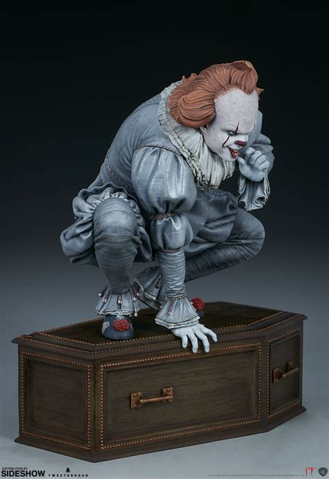 pennywise maquette  tweeterhead sideshow collectibles