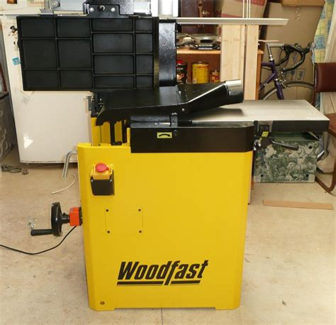 review woodfast jointer thickness planer combination