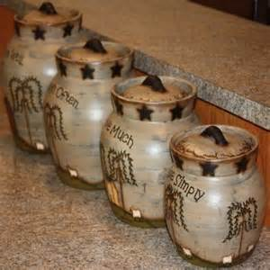 country kitchen canisters adorable country classics primitive ceramic canisters