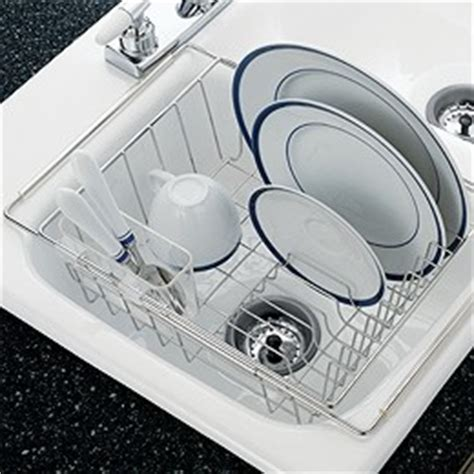 kitchen sink drying rack stainless steel in sink dish drainer for the kitchen 5773