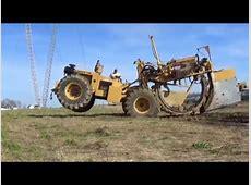 Laying field drainage tile near Fostoria Ohio Mike Less