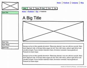 The Importance Of Wireframes In Web Design And 9 Tools To ...