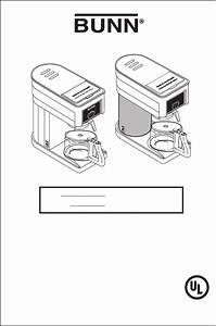 Bunn B10  Gr10 Manual