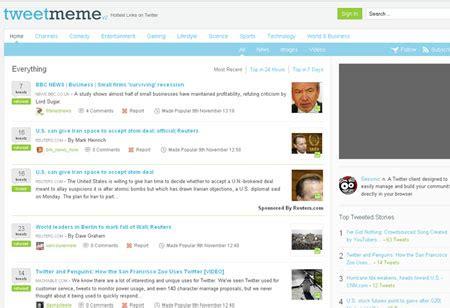 Tweet Meme - tweetmeme launches adtweets also throws in featured tweets again techshout