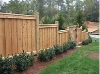 privacy fencing ideas Custom Fence Design