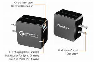 Gift Idea  Qualcomm Quick Charge 2 0 Wall Charger For  23