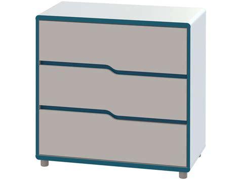 chambre bébé bleu turquoise commode moby coloris blanc et bleu vente de commode