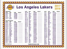 Los Angeles Lakers Roster Autos Post