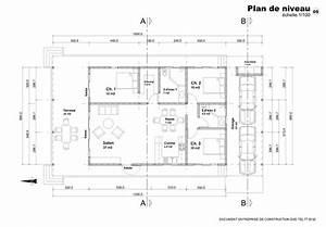 exemple de plan de maison en afrique With plan de maison 110m2 16 plan villa f4