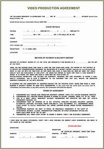 video production contract 6 printable contract samples With sample wedding videography contract