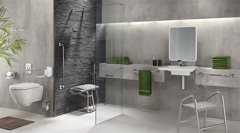 bureau scandinave aménagement salle de bain pour handicapés et séniors