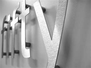 stainless steel house numbers With stainless steel letters and numbers