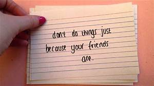 Advice To Yourself