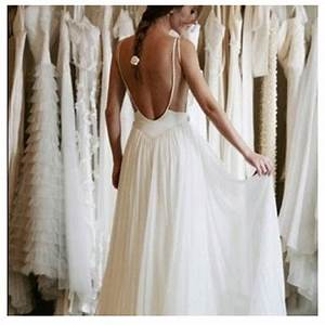 love the thin straps and low back wedding dresses With thin strap wedding dress