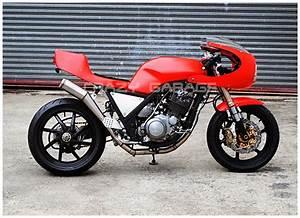 Racing Caf U00e8  Yamaha Srx 400 By Crazy Garage