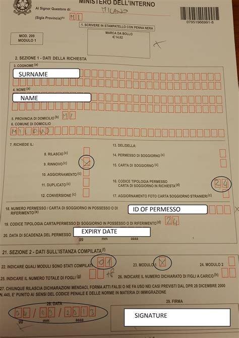 How To Check Permesso Di Soggiorno by Soggiorno Check Preisliste Cing Fossalta