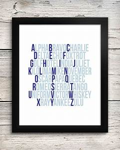 aviation alphabet print pilot baby gift phonetic With aviation letter art
