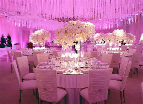 purple wedding reception decorations living room