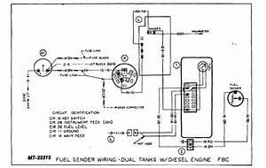 Fuel Sender Wiring-dual Tanks W   Diesel Engine Fbc
