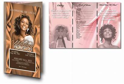 Programs Trifold Fold Funeral Poems Sections Lb