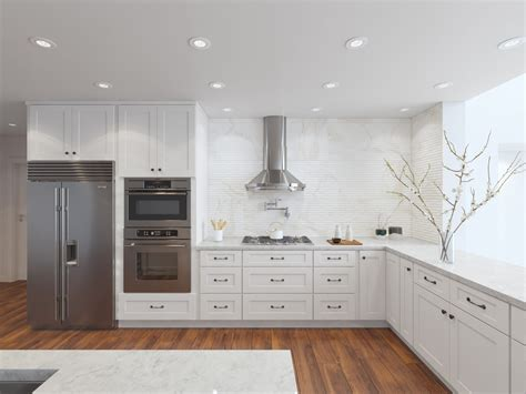 modern kitchen cabinets rendering addo visualization
