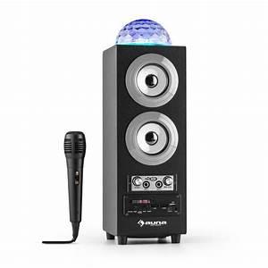 Lautsprecher Akku Bluetooth : discostar silver portabler 2 1 bluetooth lautsprecher usb akku led mikro silber online kaufen ~ Markanthonyermac.com Haus und Dekorationen