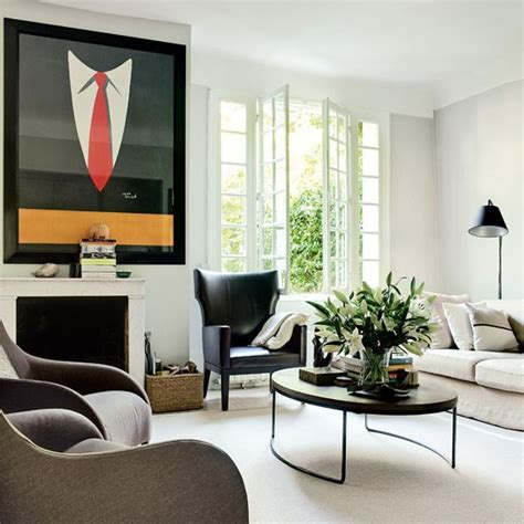 Retro Modernstyle Living Room  Living Room Housetohome