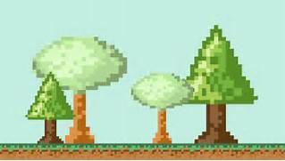 Pixel art backgrounds ...