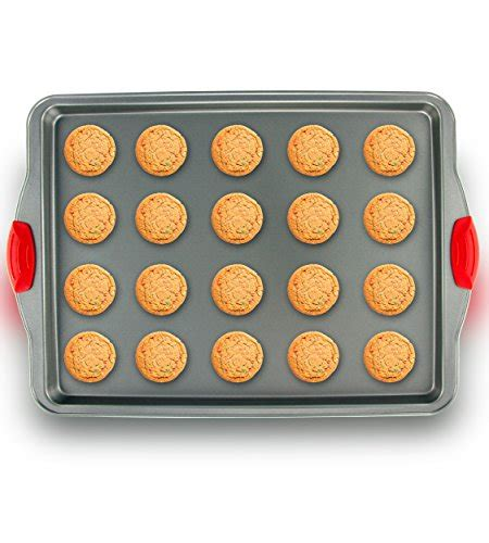 baking sheet non steel pan nonstick stainless toxic rimmed aluminum dent warp kitchen cookie rust commercial chemicals pans molds handles