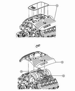 2013 Dodge Charger Cover  Engine  Upper  Markings  Logo