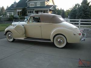 1940 Packard 160 Super 8 Convertible Coupe
