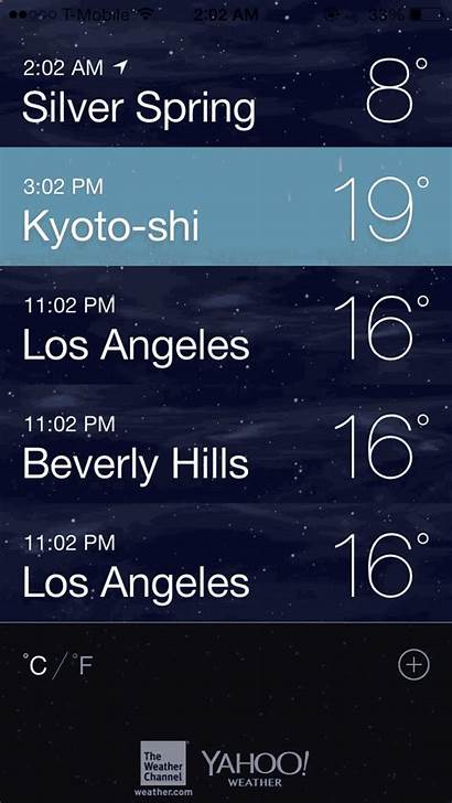 Weather App Ios Pinch Open Guide Ultimate