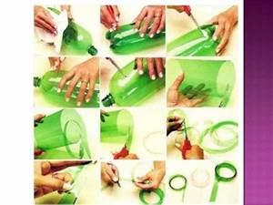 Manualidades de diferentes materiales reciclables