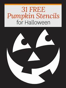 Use These Stencil Patterns To Create Cute  Or Creepy  Halloween Pumpkins That Will Surprise Your