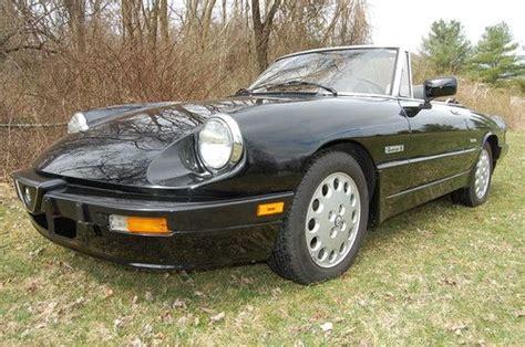 Find Used 1988 Alfa Romeo Spider Quadrifoglio History From