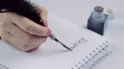 how to write with a feather quill 14 steps with pictures
