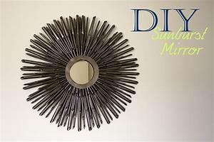 Diy sunburst mirror tutorial a little abandon