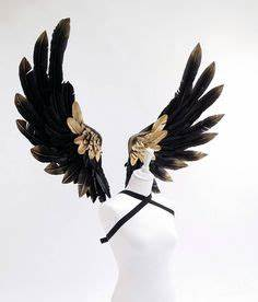 Black Swan Kostüm Selber Machen : black swan feather wings cape fasching kost m und fasnacht ~ Frokenaadalensverden.com Haus und Dekorationen